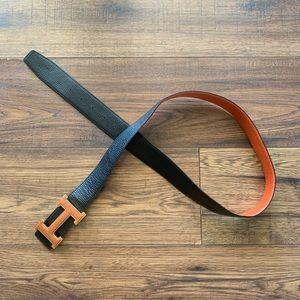 """H"" Belt 😃"